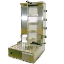Kebab Machine 4 Burner LPG